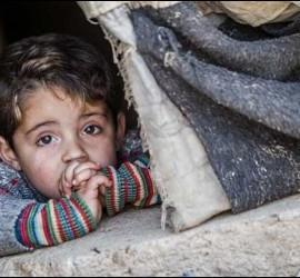El infierno de los niños de Siria