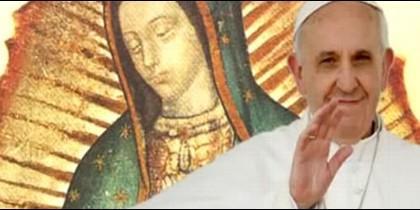 Francisco y la Virgen de Guadalupe