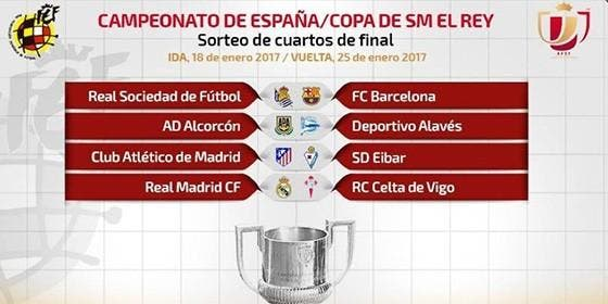 Ni derbi ni Clásico en los cuartos de final de la Copa del Rey ...