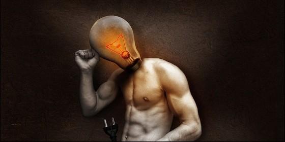 Ideas, pensamiento, electricidad y publicidad.