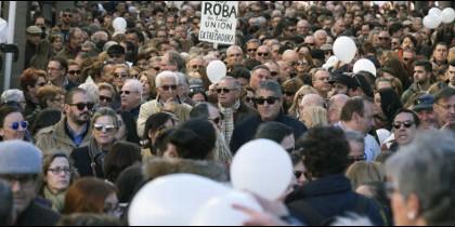 Manifestantes en Andalucía
