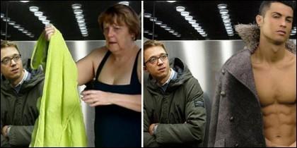 'Memes' con la fotografía de Errejón en el ascensor.