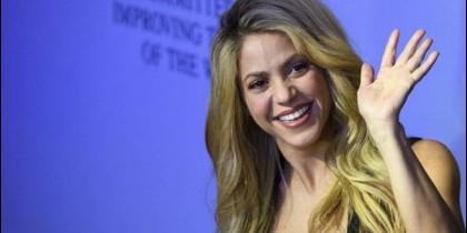 Shakira en Davos.