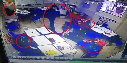 El tiroteo en el colegio de Monterrey