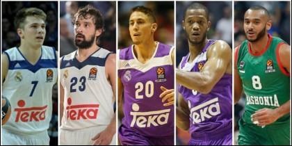 Encuesta GM Euroliga: Doncic, mejor joven; Llull, Carroll, Randolph y Hanga, destacados Encuesta GM Euroliga: Doncic, mejor joven; Llull, Carroll, Randolph y Hanga.