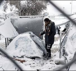 El frío azota Europa
