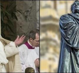 El Papa Francisco y Martín Lutero