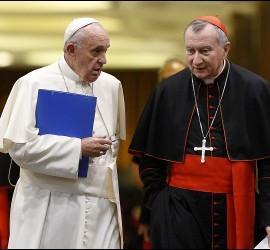 El Papa y Parolin