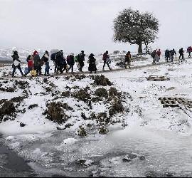 Las duras condiciones de los refugiados