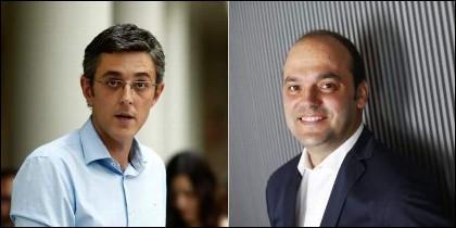El diputado Eduardo Madina y el economista José Carlos Díez.