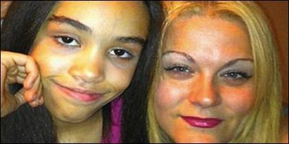 Nicholette Lawrence y su infortunada hija