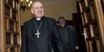 El arzobispo de Zaragoza, Vicente Jiménez