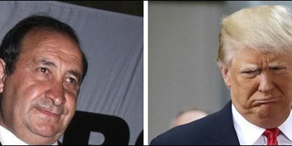 Jesús Gil y Donald Trump.