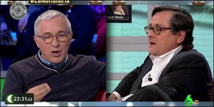 Javier Sardá y Francisco Marhuenda.