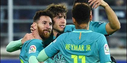 Leo Messi y el Barça siguen goleando.