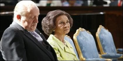 El Rey Juan Carlos y la Reina Sofía