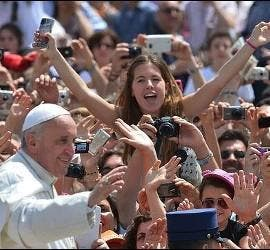 El Papa y los jóvenes