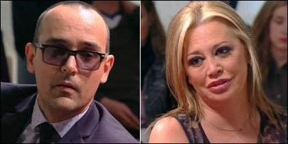 Risto Mejide y Belén Esteban.