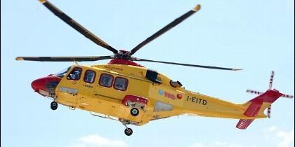 Helicópterio de rescate