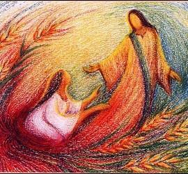 Las mujeres, con Jesús