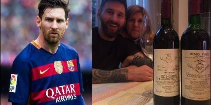 Messi, cumpleaños de su madre