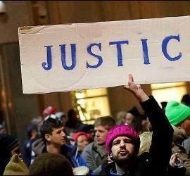Protesta por el veto de Trump a refugiados y musulmanes