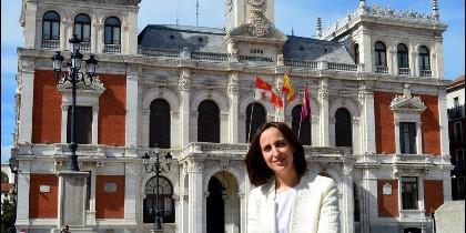 La Concejal por Ciudadanos en Valladolid, Pilar Vicente