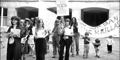 Manifestación en favor del aborto