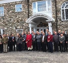 Algunos de los participantes del I Congreso Iberoamericano de Teología