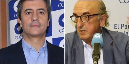 Manolo Lama y Jaume Roures.