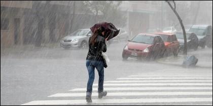 Borrasca, lluvia, viento y frío.