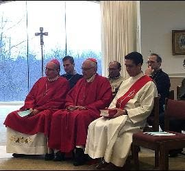Misa de inauguración del encuentro