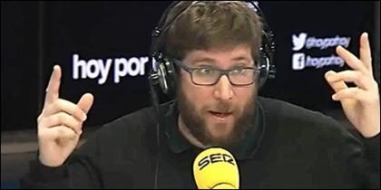 Miguel Urbán en Hoy por Hoy.
