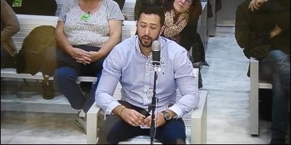 El rapero Josep Miquel Arenas, Valtonyc, en el banquillo de la Audiencia Nacional