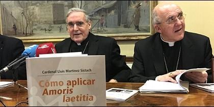 Sistach y Osoro presentan 'Cómo aplicar la Amoris Laetitia' (Claret)