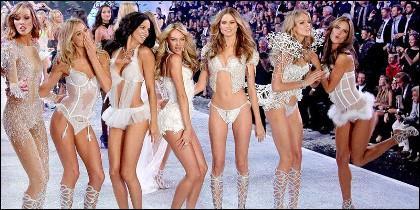 los 'ángeles' de Victoria Secret.