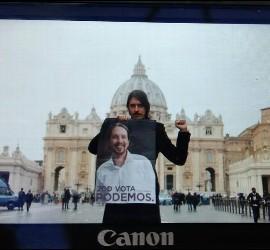 El falso sacerdote, en el Vaticano
