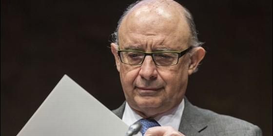 Cristobal Montoro, Ministro de Hacienda.