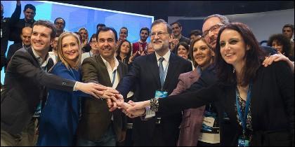 Proclamación Mariano Rajoy como Presidente del Partido Popular.