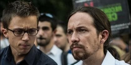 Iñigo Errejón y Pablo Iglesias (PODEMOS) ya no son amigos.
