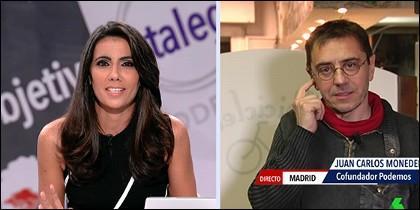 Ana Pastor y Juan Carlos Monedero.