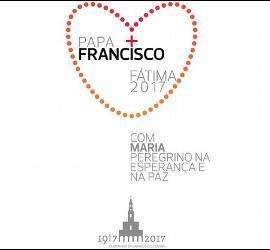 Logo de la visita del Papa a Fátima