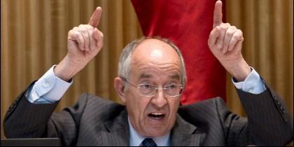 EL exgobernador del Banco de España (BdE) Miguel Ángel Fernández Ordóñez (Mafo).
