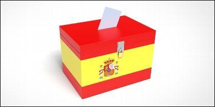 Elecciones, partidos políticos, campañas y encuestas en España.