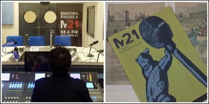 Emisora municipal M21 y revista M21.