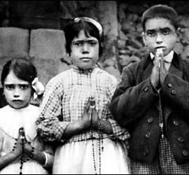 Los tres pastorcitos de Fátima