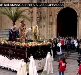 Polémica en Salamanca por el acento de las cofradías