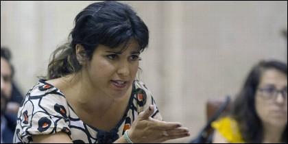 Teresa Rodríguez (PODEMOS).