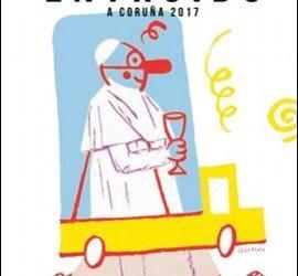 Francisco, en el carnaval de A Coruña