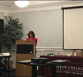 Ponencia de Consuelo Vélez en el I Encuentro Iberoamericano